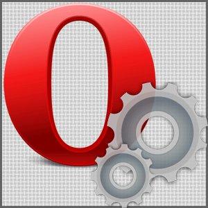 Настройка Opera