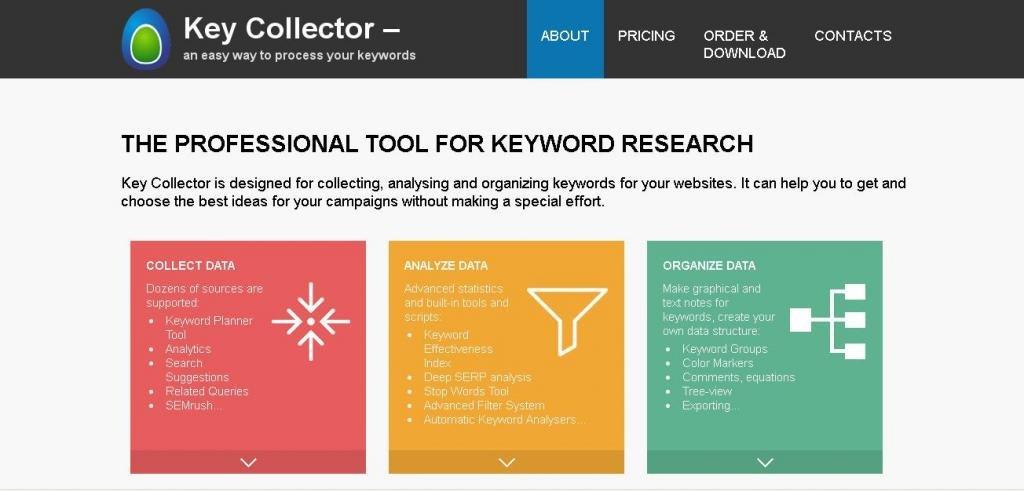 официальный сайт KeyCollector