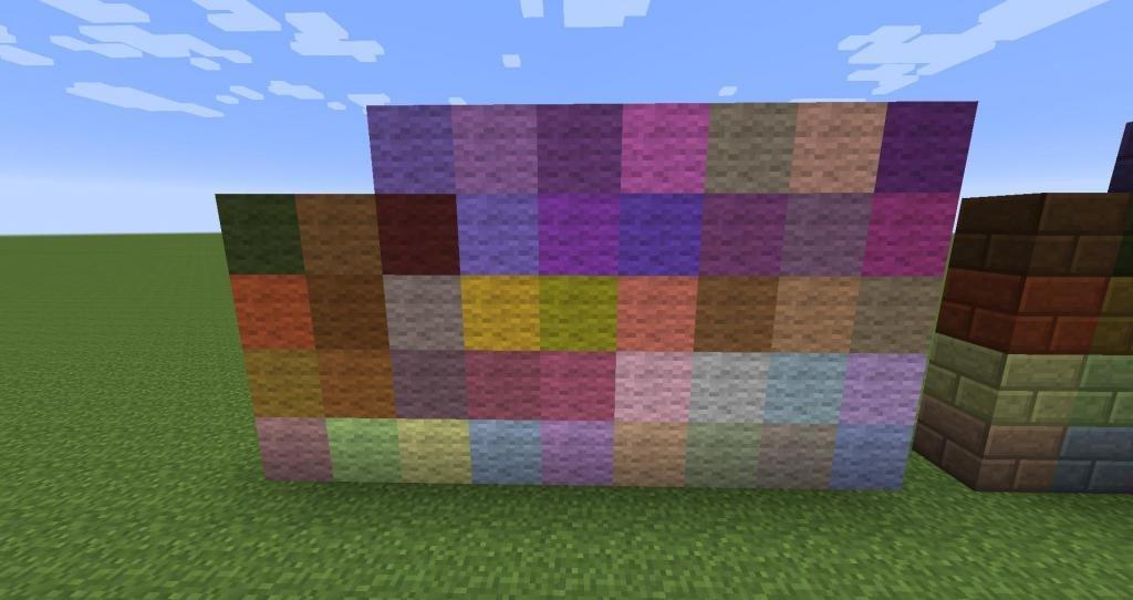Цветная шерсть